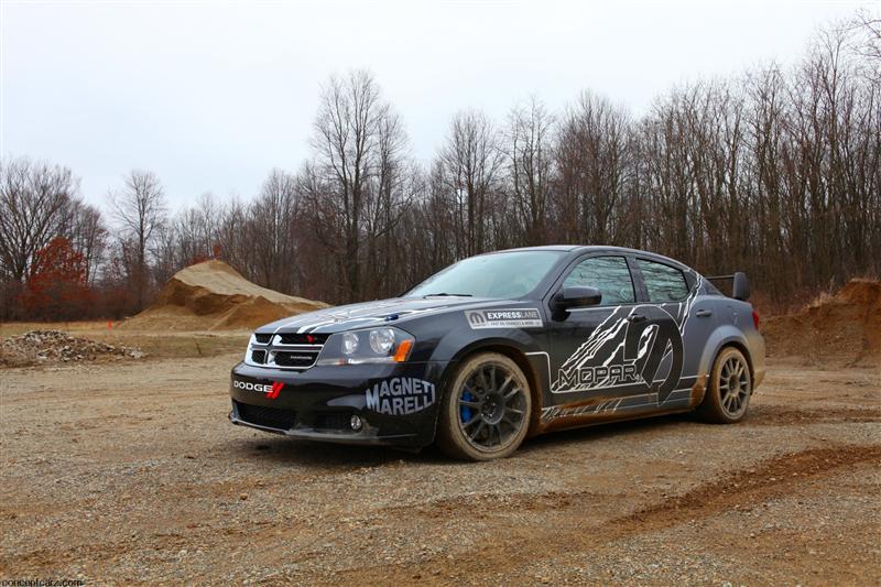 2011 Dodge Avenger Rally Car