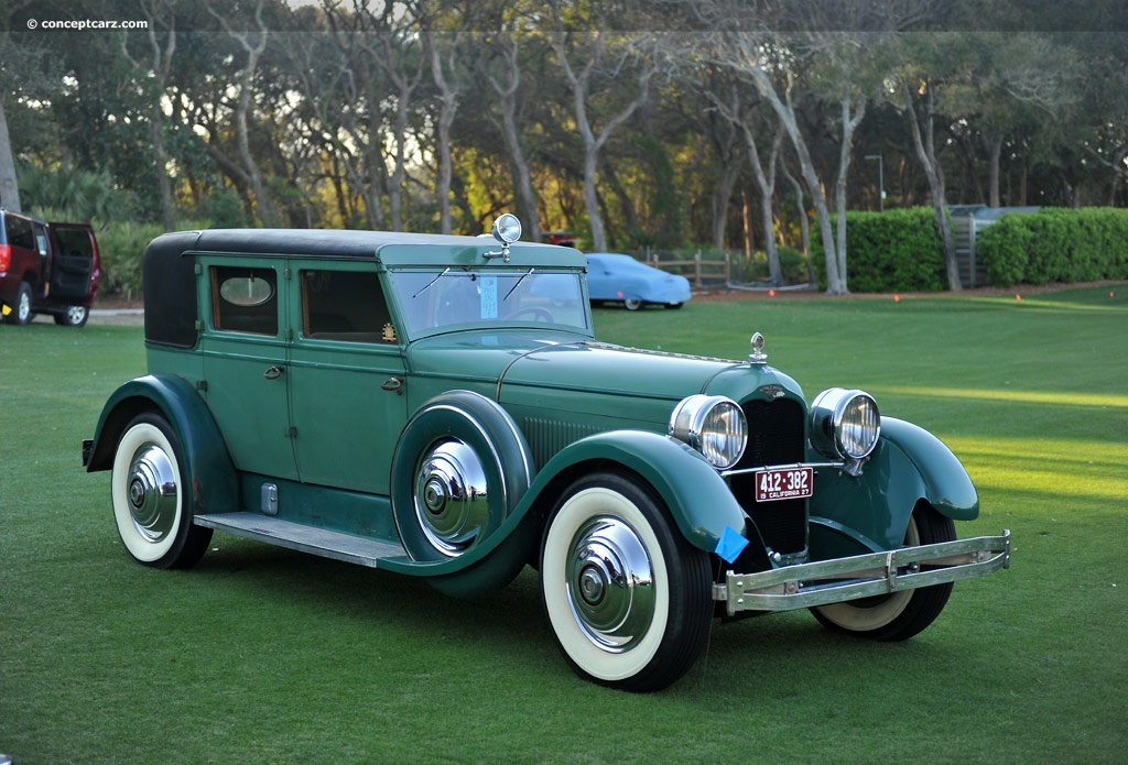 1927 Duesenberg Model X At The Amelia Island Concours D