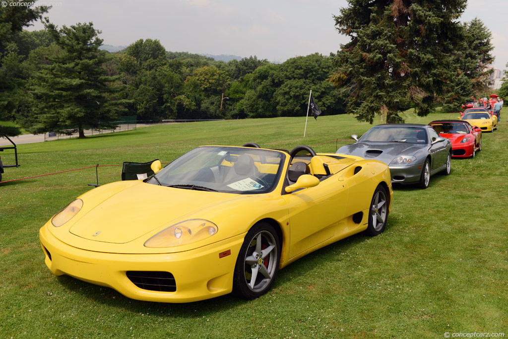 auction results and data for 2001 ferrari 360 spider. Black Bedroom Furniture Sets. Home Design Ideas
