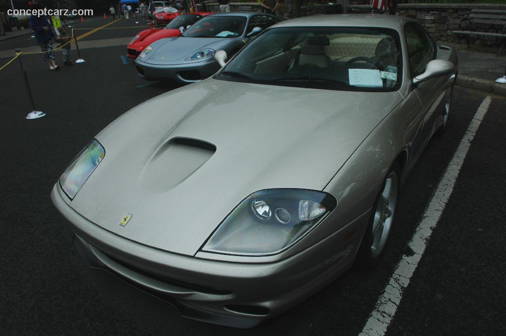 2001 ferrari 550 maranello at the scarsdale concours new york. Black Bedroom Furniture Sets. Home Design Ideas