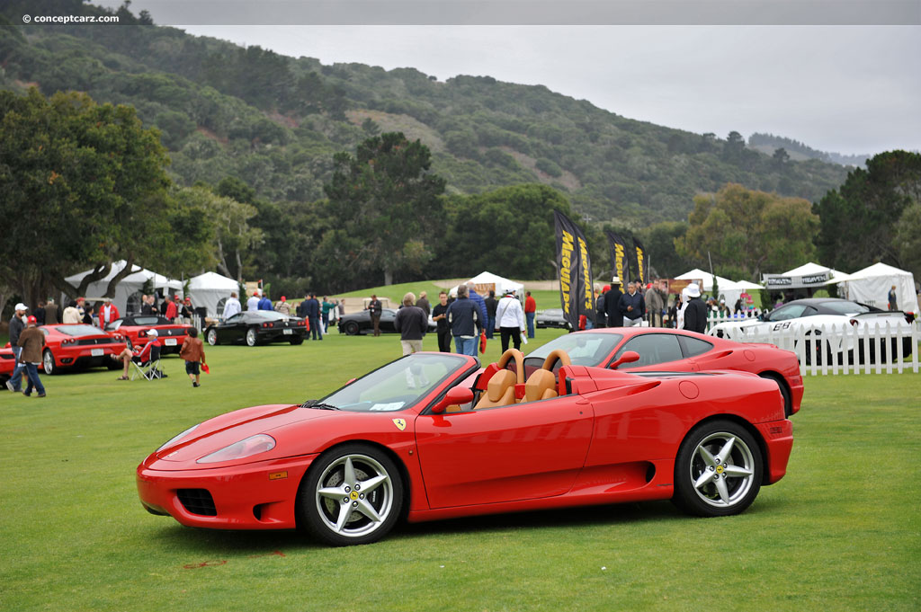 2001 ferrari 360 spider. Black Bedroom Furniture Sets. Home Design Ideas