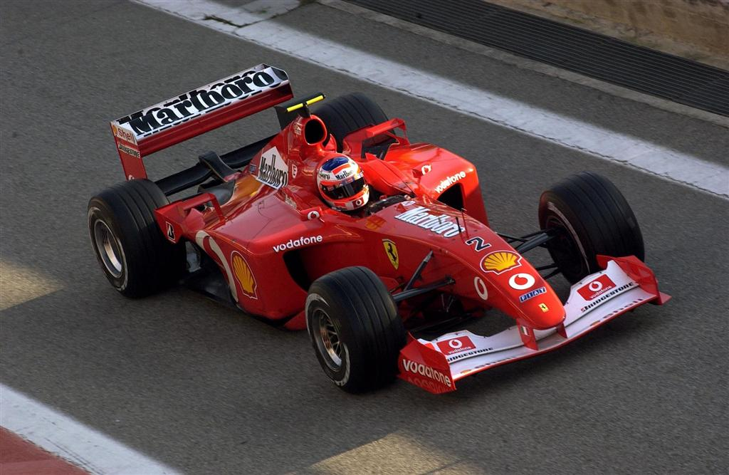 Auction Results And Data For 2002 Ferrari F2002