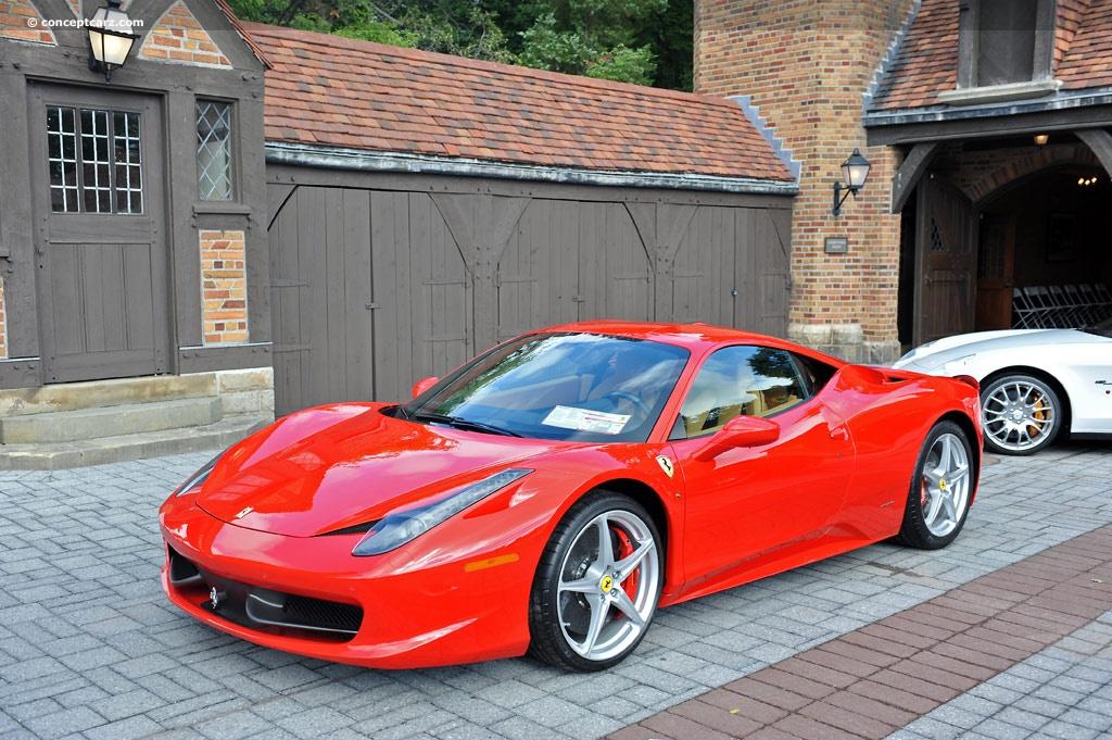 2010 Ferrari 458 Italia photo - 2