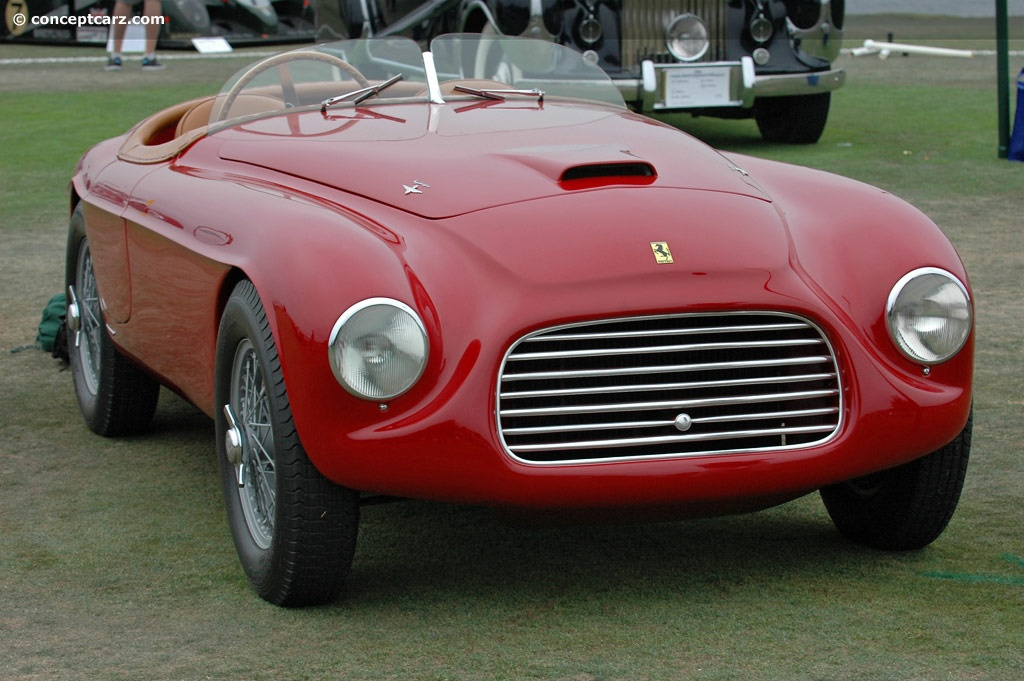 auction results and data for 1948 ferrari 166 mm - conceptcarz