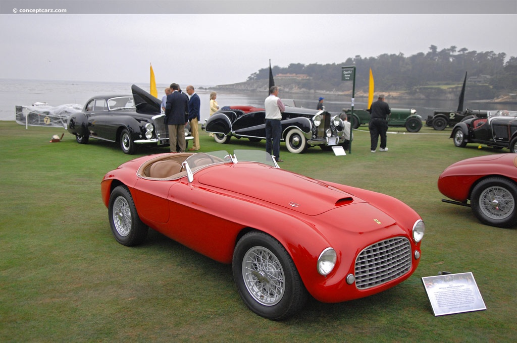 auction results and data for 1949 ferrari 166mm - conceptcarz