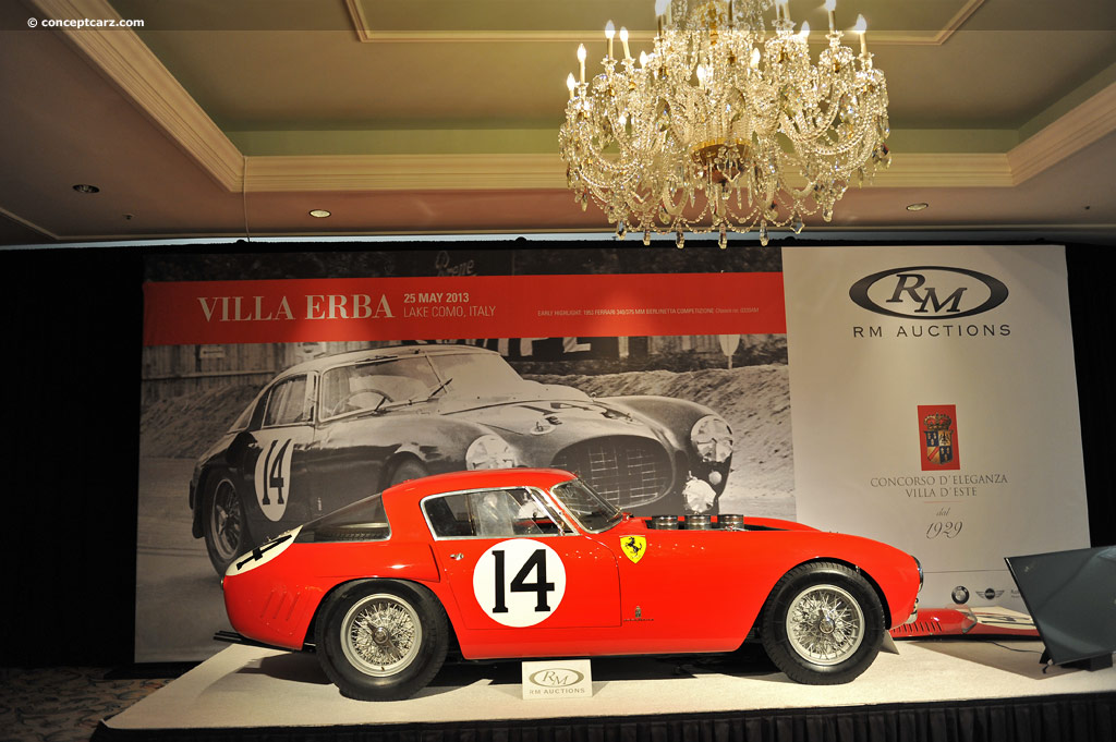 Ferrari 340/375 MM pictures and wallpaper