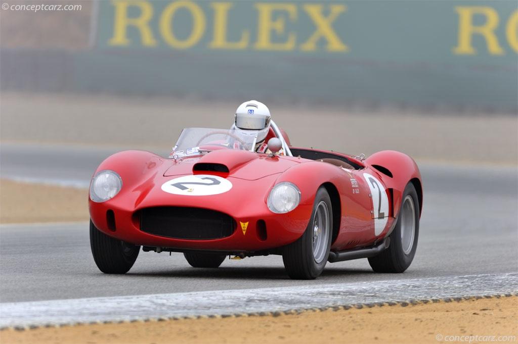 Ferrari 412 Sport pictures and wallpaper