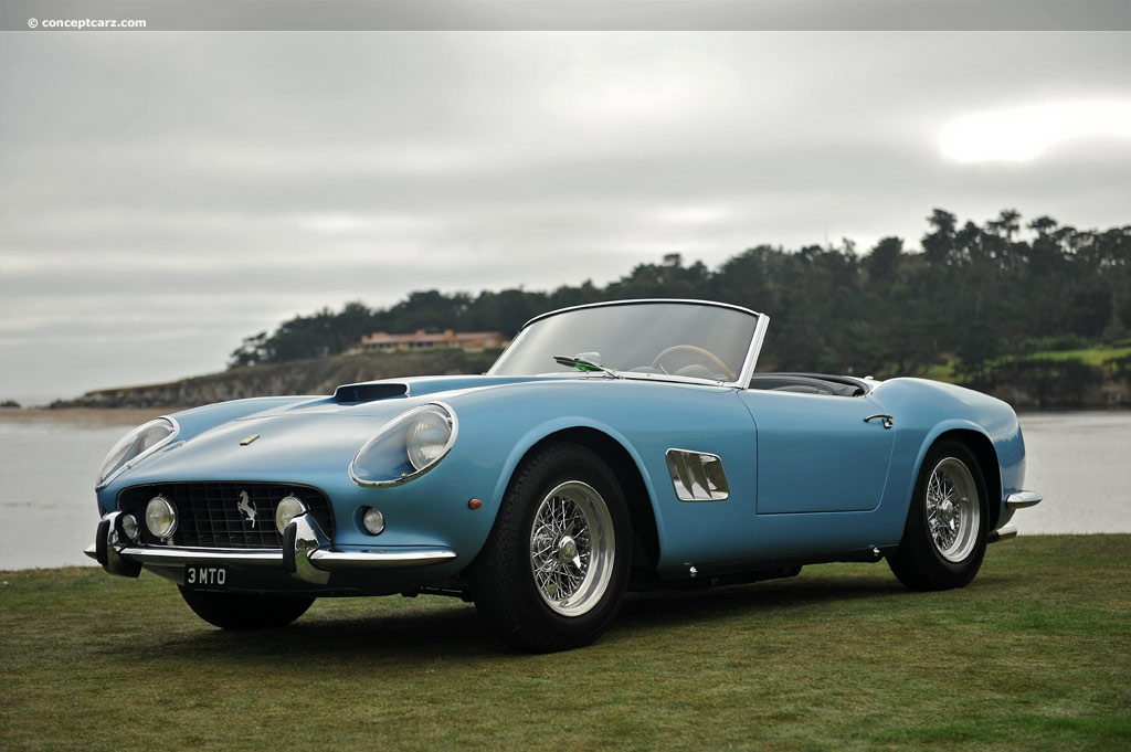 auction results and data for 1961 ferrari 250 gt california. Black Bedroom Furniture Sets. Home Design Ideas