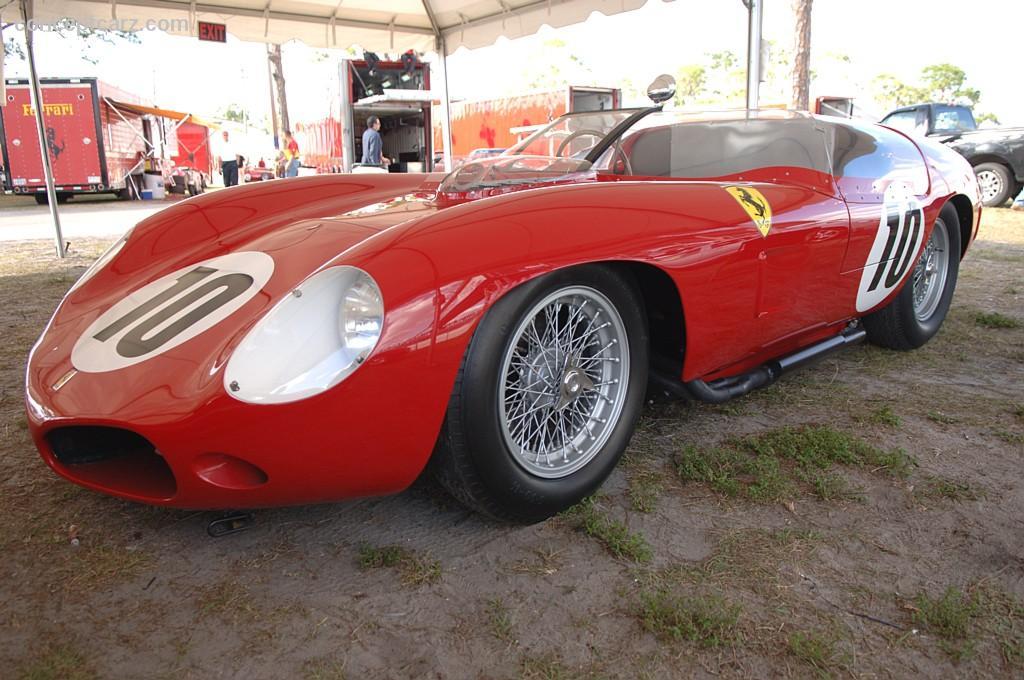 1961 Ferrari 250 TRI61 at the Pebble Beach Concours d&#39-Elegance