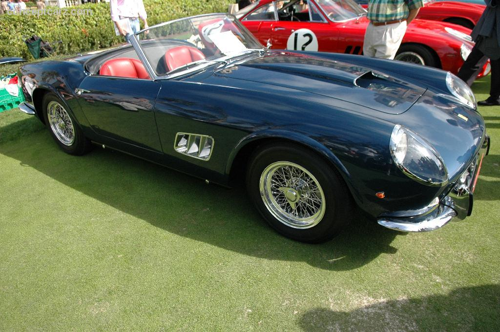 chassis 2561 gt 1961 ferrari 250 gt california chassis information. Black Bedroom Furniture Sets. Home Design Ideas