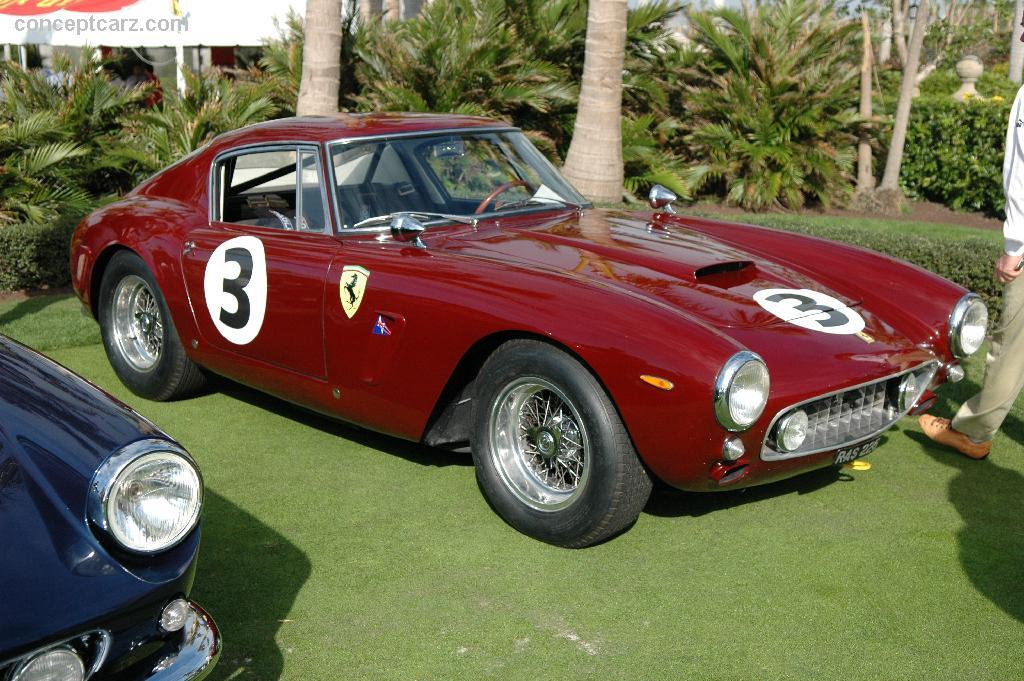 1961 ferrari 250 gt swb competition image chassis number 2443 gt. Black Bedroom Furniture Sets. Home Design Ideas