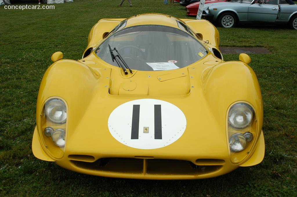 Auction Results And Data For 1967 Ferrari 412 P