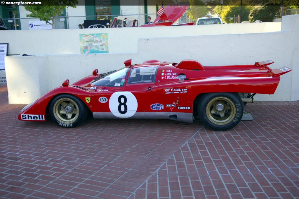 1970 Ferrari 512 M At The Monterey Sports And Classic Car