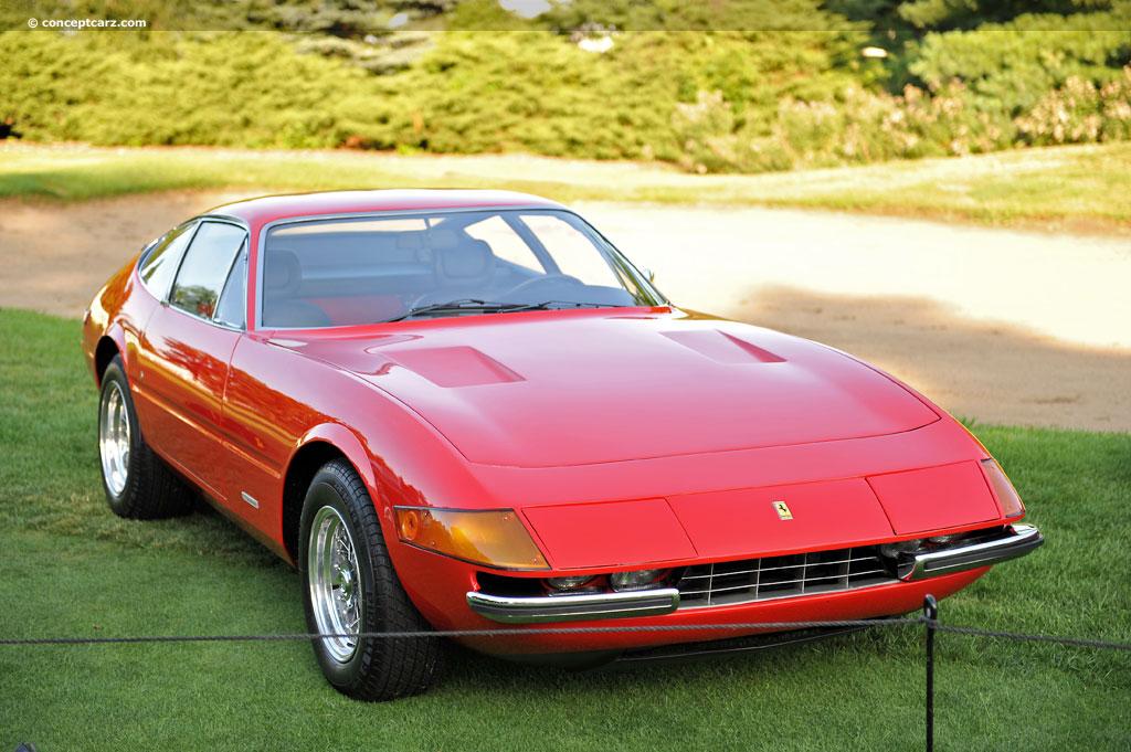 1971 Ferrari 365 GTB/4 Daytona Competitizione (Series 1, S1 ...
