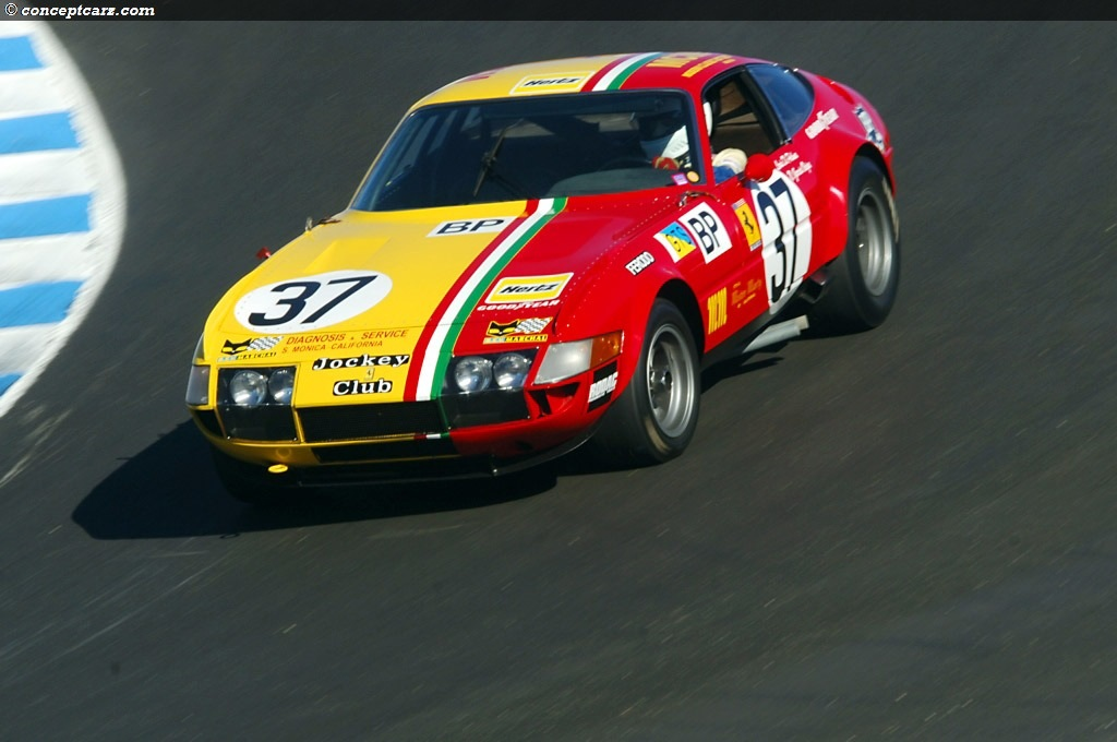 Auction Results And Data For 1973 Ferrari 365 Gtb 4 Daytona Competizione Conceptcarz Com