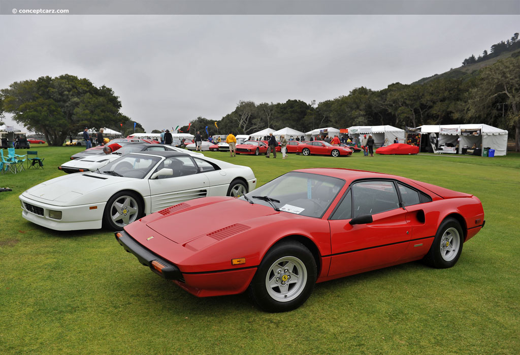 Auction results and data for 1978 Ferrari 308 GTB  conceptcarzcom
