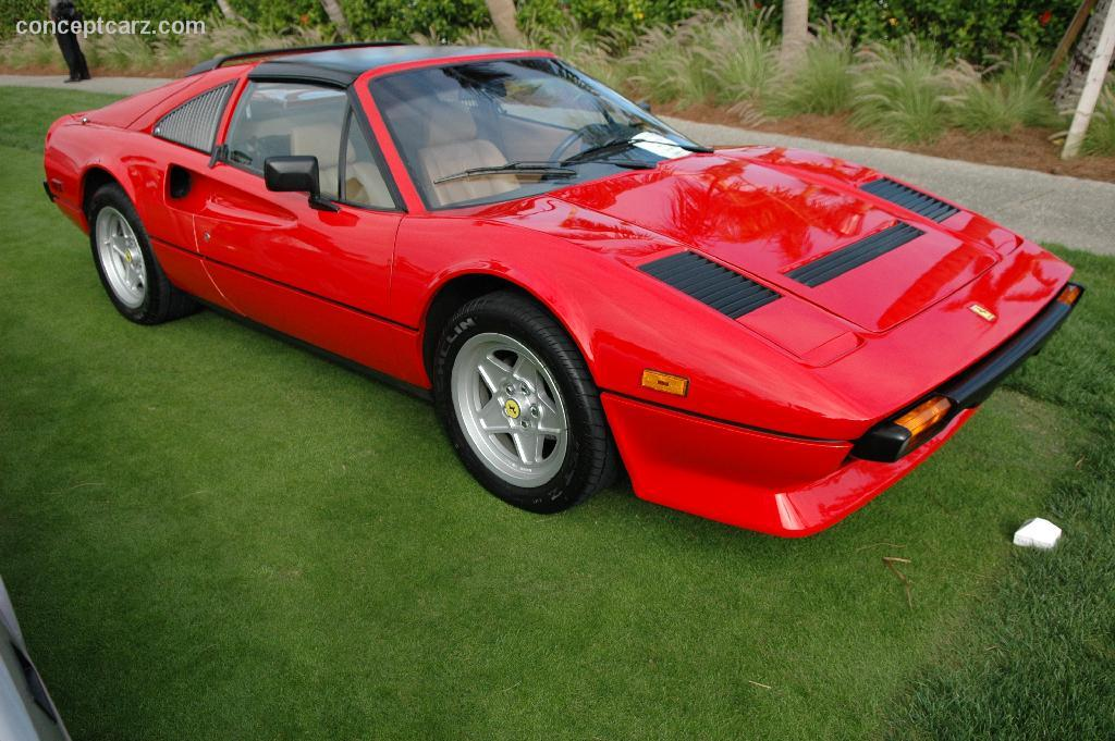 1984 ferrari 308 gts. Black Bedroom Furniture Sets. Home Design Ideas
