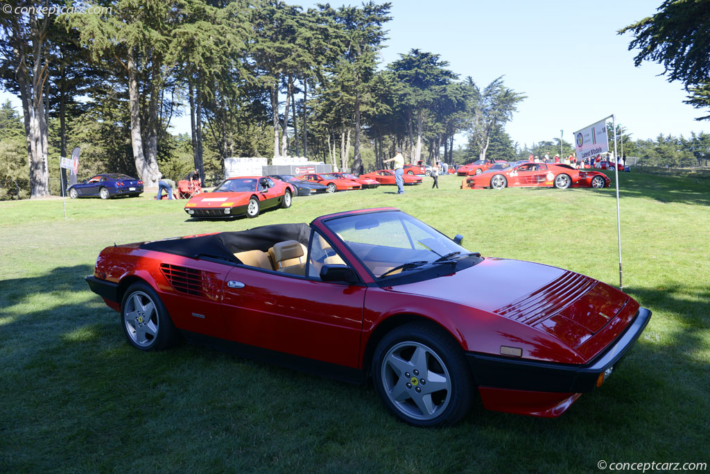 auction results and data for 1985 ferrari mondial. Black Bedroom Furniture Sets. Home Design Ideas