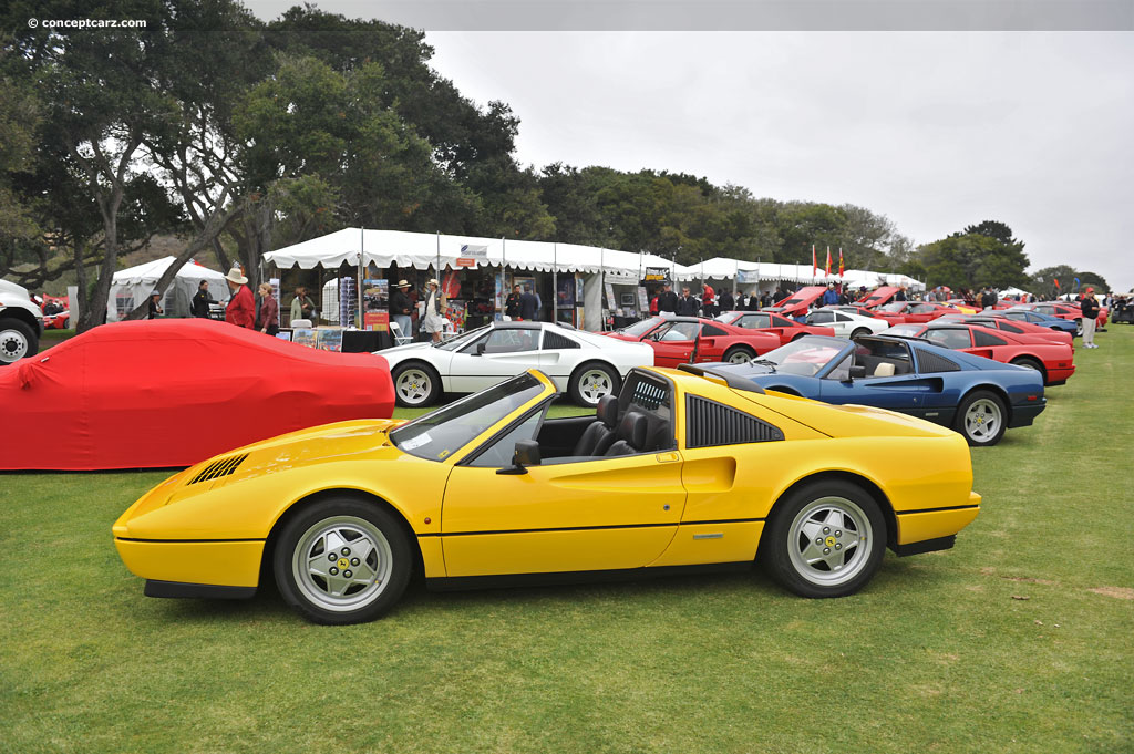auction results and data for 1988 ferrari 328 gts. Black Bedroom Furniture Sets. Home Design Ideas