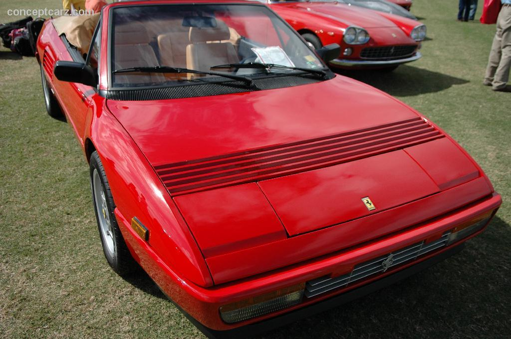 1989 ferrari mondial t at the palm beach international concours d 39 elegance. Black Bedroom Furniture Sets. Home Design Ideas