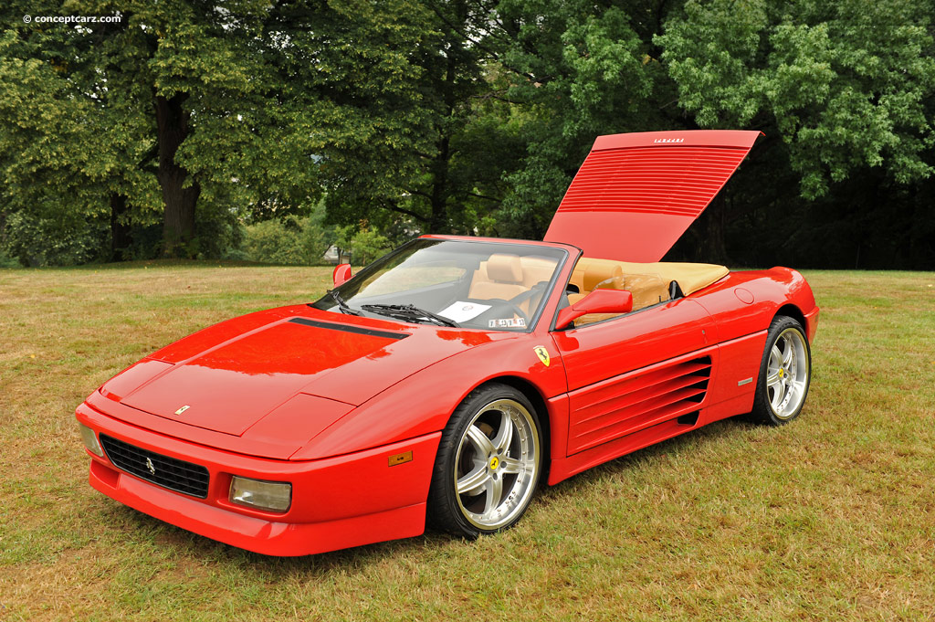 auction results and data for 1994 ferrari 348. Black Bedroom Furniture Sets. Home Design Ideas