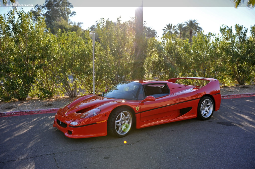 auction results and data for 1995 ferrari f50. Black Bedroom Furniture Sets. Home Design Ideas