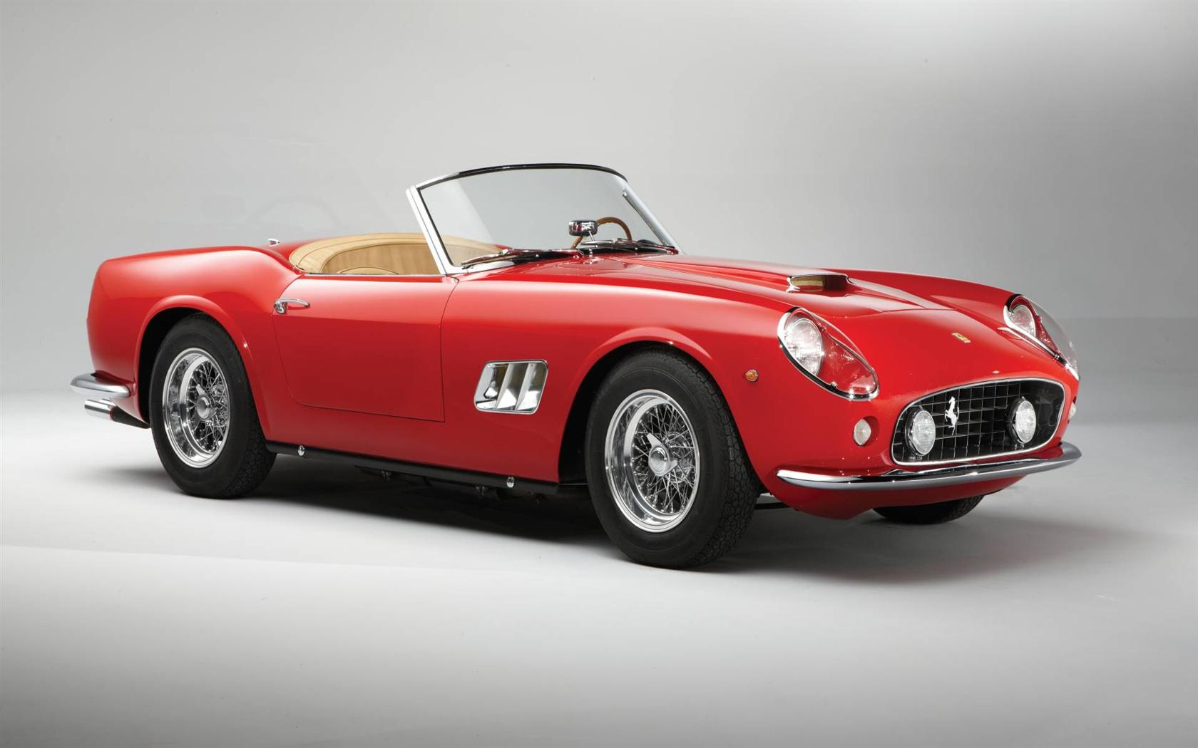 1962 Ferrari 250 Gt California At The Rm Auctions Monterey
