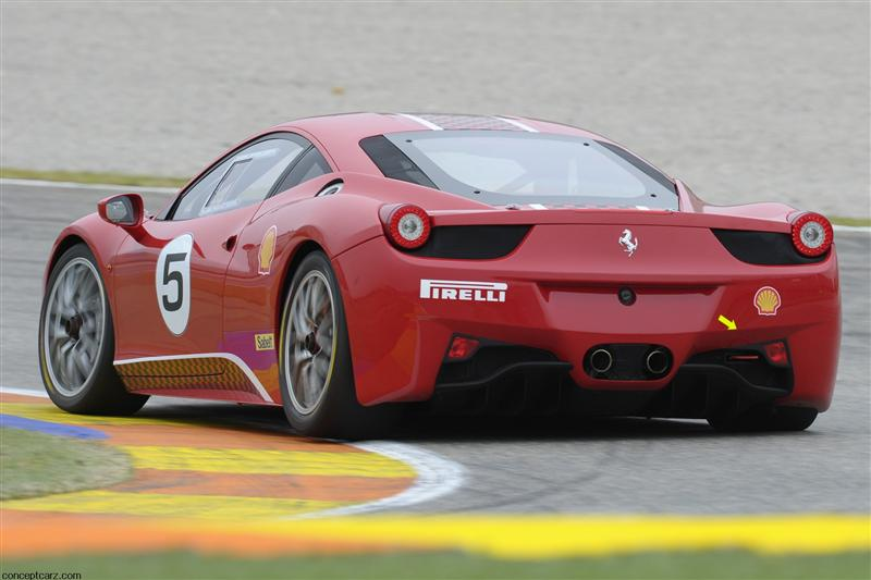2011 ferrari 458 challenge image. Black Bedroom Furniture Sets. Home Design Ideas