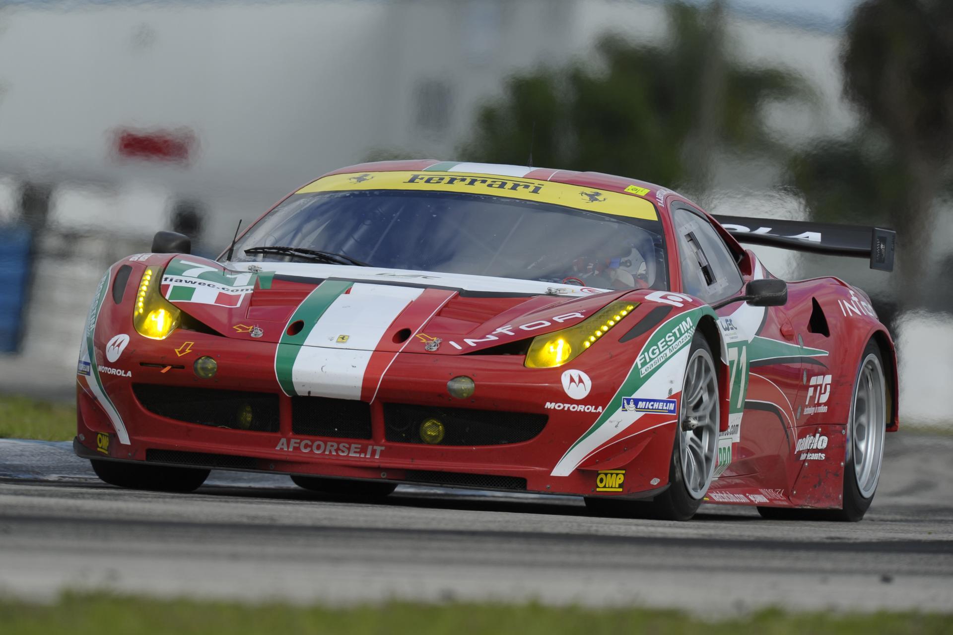 2012 Ferrari 458 Italia GT2 Images. Photo Ferrari-458