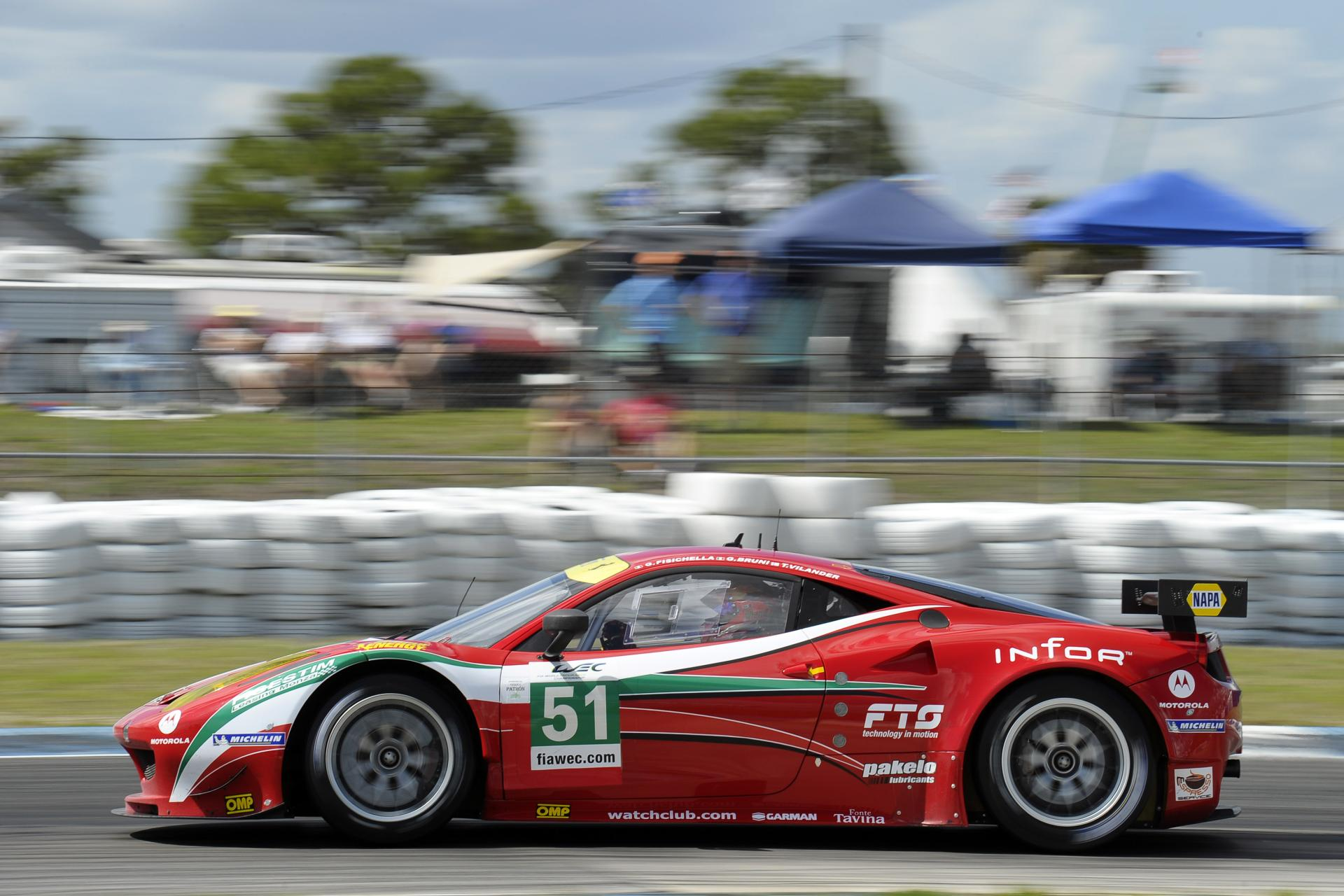 2012 Ferrari 458 Italia GT2 Image