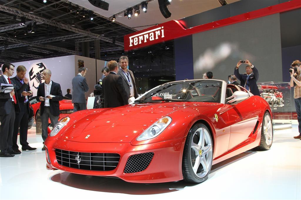 2011 Ferrari 599 Sa Aperta Conceptcarz