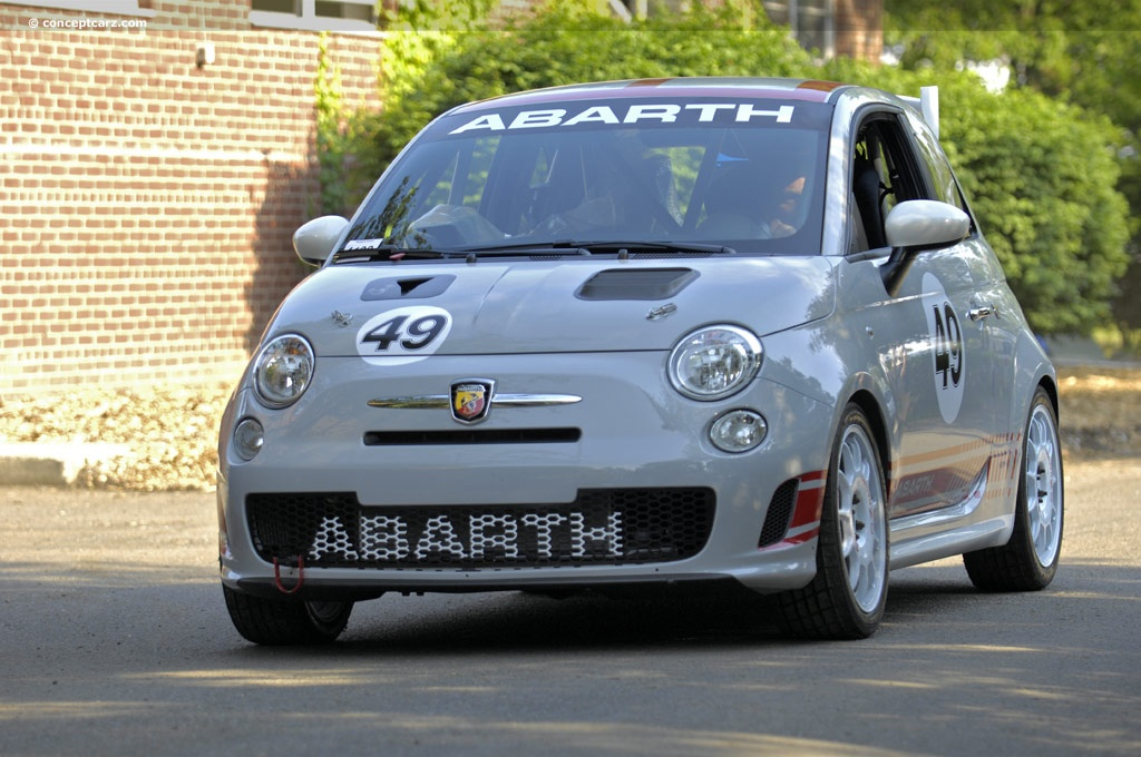 2008 abarth 500 assetto corse at the greenwich concours d. Black Bedroom Furniture Sets. Home Design Ideas