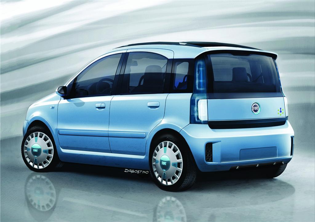 2006 Fiat Panda Multieco Concept Pictures History Value