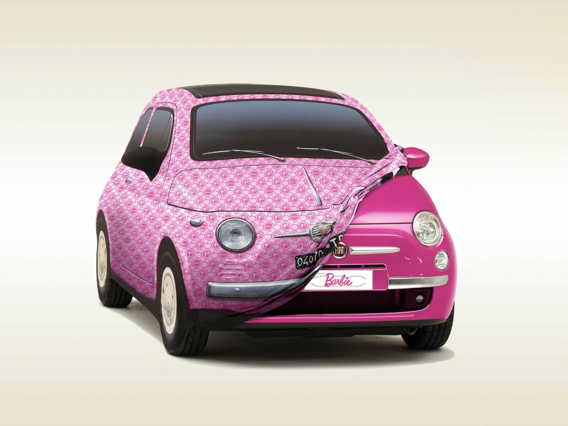 2009 fiat 500 barbie edition. Black Bedroom Furniture Sets. Home Design Ideas