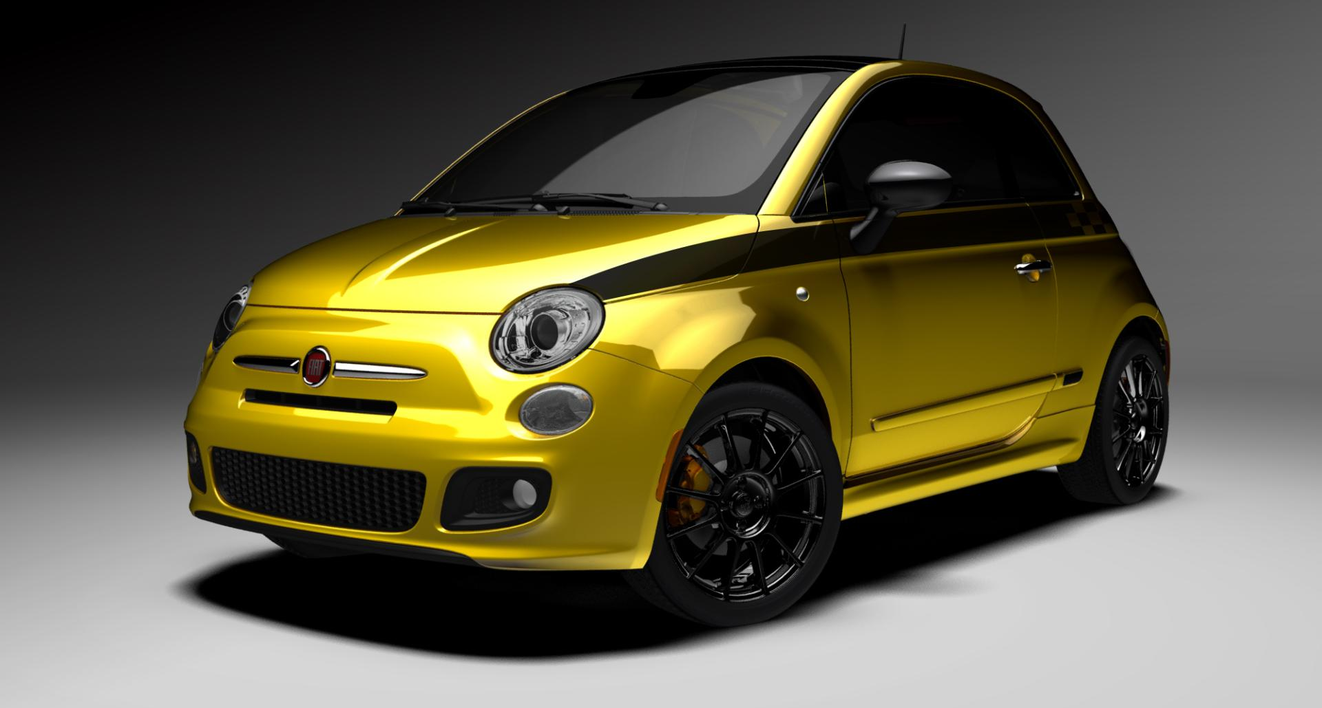 2012 fiat 500 stinger technical specifications and data. Black Bedroom Furniture Sets. Home Design Ideas