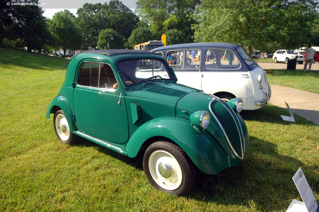 Auction Results And Data For 1948 Fiat 500 Topolino