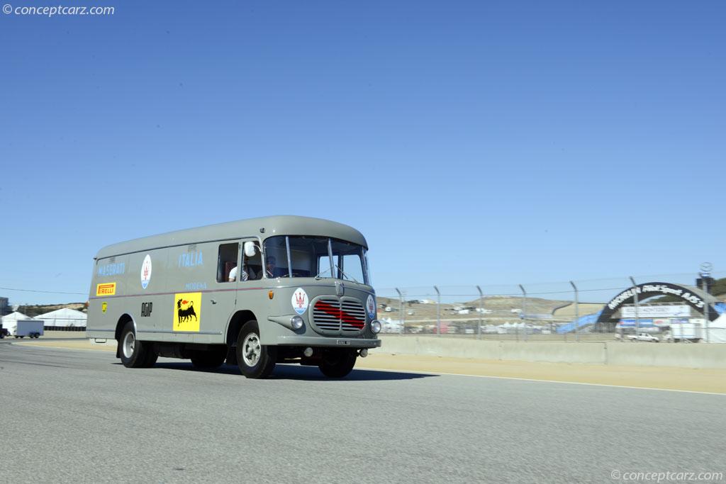 1952 fiat 642 transporter at the rolex monterey motorsports reunion. Black Bedroom Furniture Sets. Home Design Ideas