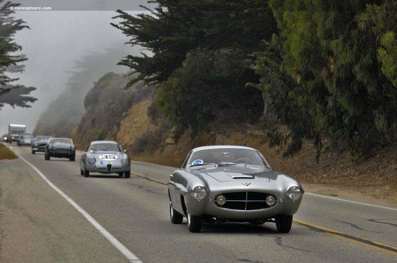 1953 Fiat 8v At The 58th Annual Pebble Beach Concours D Elegance