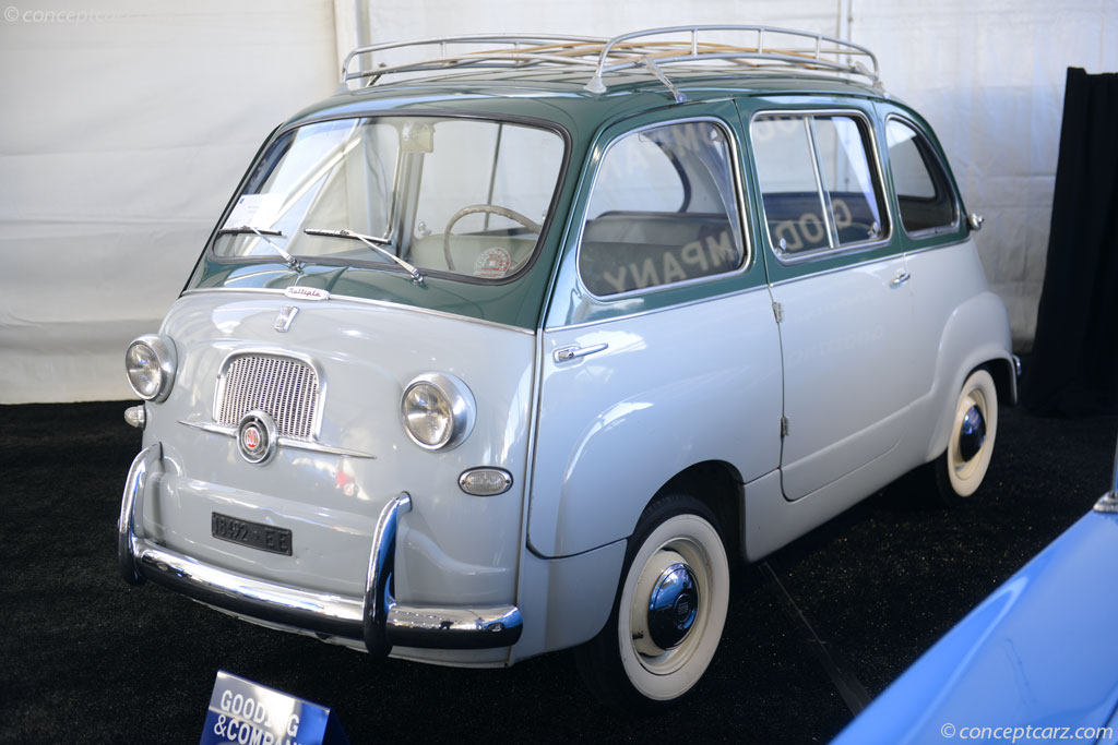 auction results and data for 1956 fiat 600. Black Bedroom Furniture Sets. Home Design Ideas
