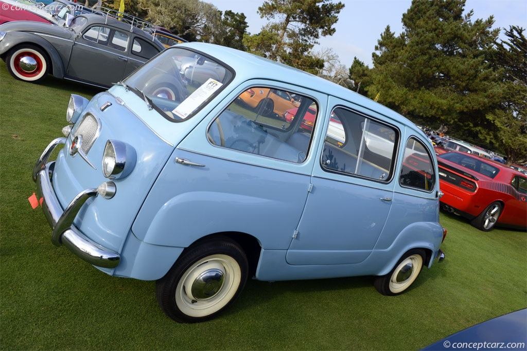 auction results and sales data for 1960 fiat 600 multipla. Black Bedroom Furniture Sets. Home Design Ideas