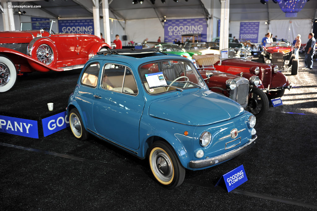 1965 fiat 500 pictures history value research news. Black Bedroom Furniture Sets. Home Design Ideas