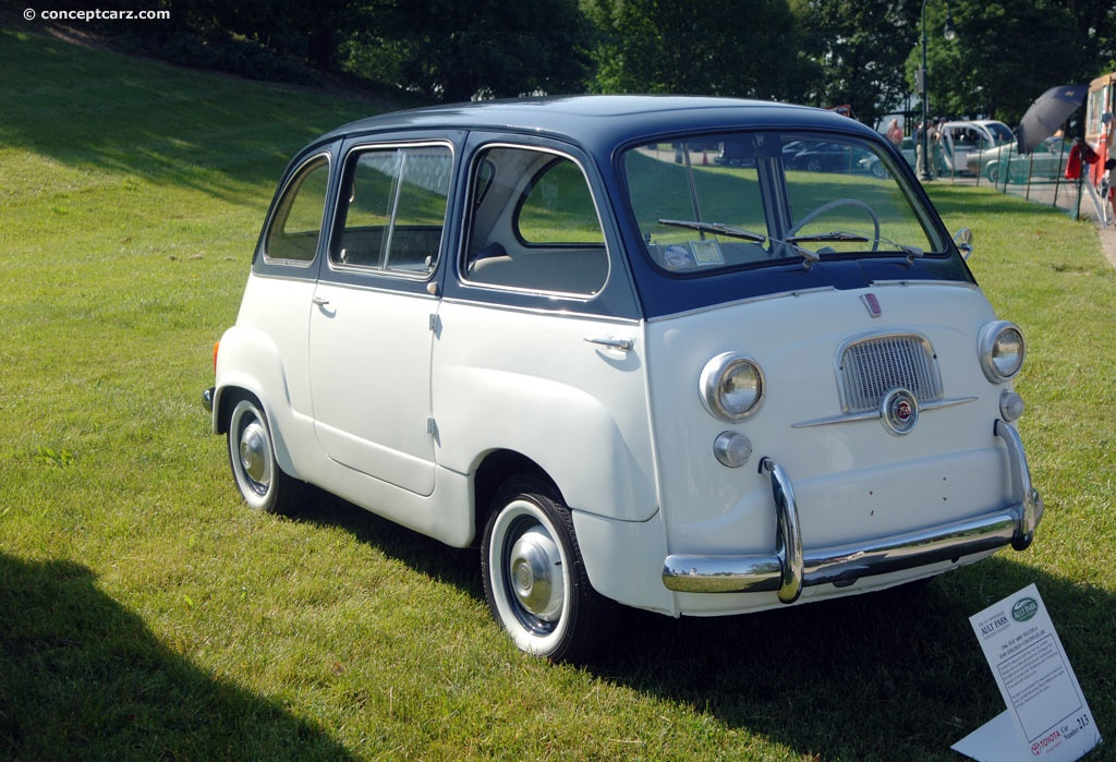 1966 fiat 600d pictures history value research news. Black Bedroom Furniture Sets. Home Design Ideas