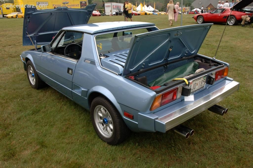 1986 Fiat X 1/9 Images. Photo: 86_Bertone_X19_DV-06-Belle_05.jpg