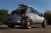 2012 Fiat 500 Beach Cruiser image.