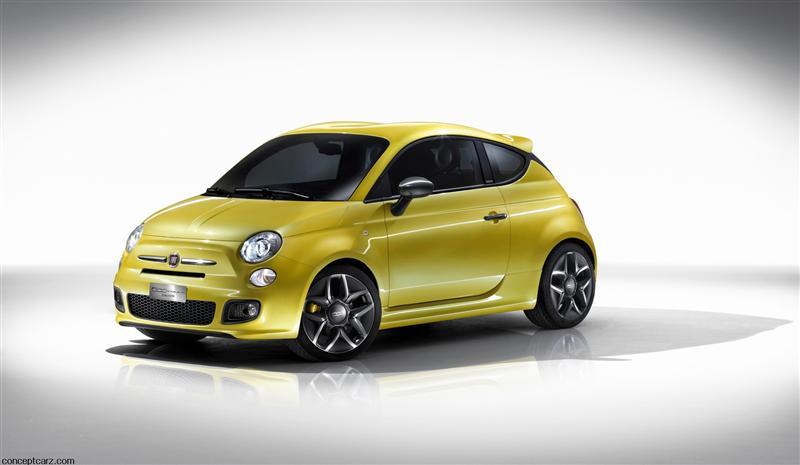 2011 Fiat 500 Coup 233 Zagato Concept Image Http Www