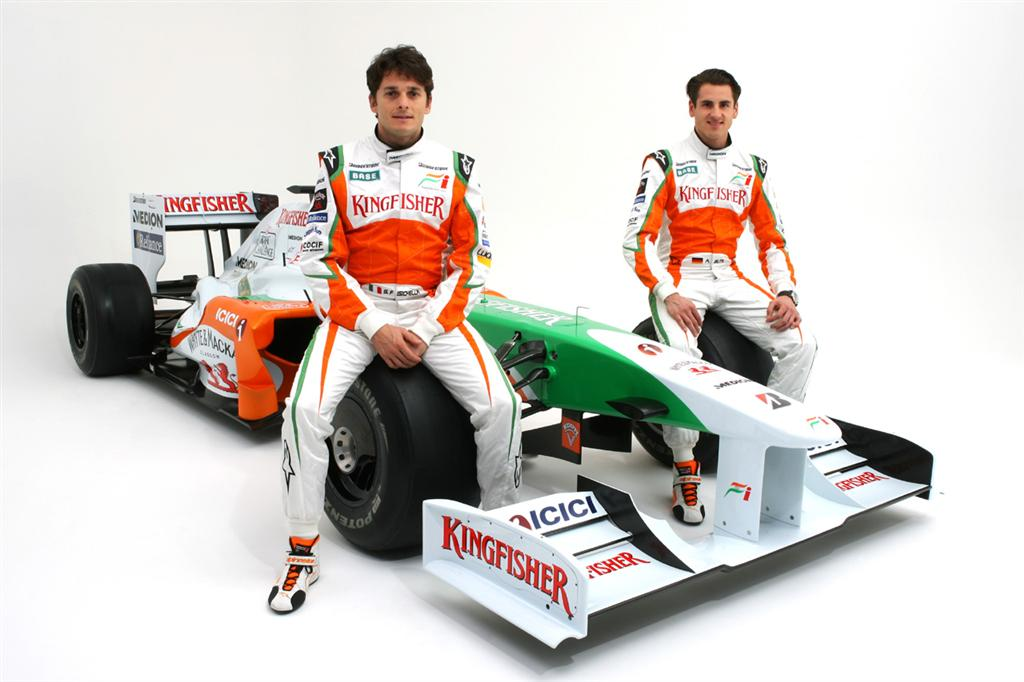 2009 force india vjm02 pictures news research pricing. Black Bedroom Furniture Sets. Home Design Ideas