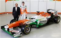 2013 Force India VJM06 Mercedes image.