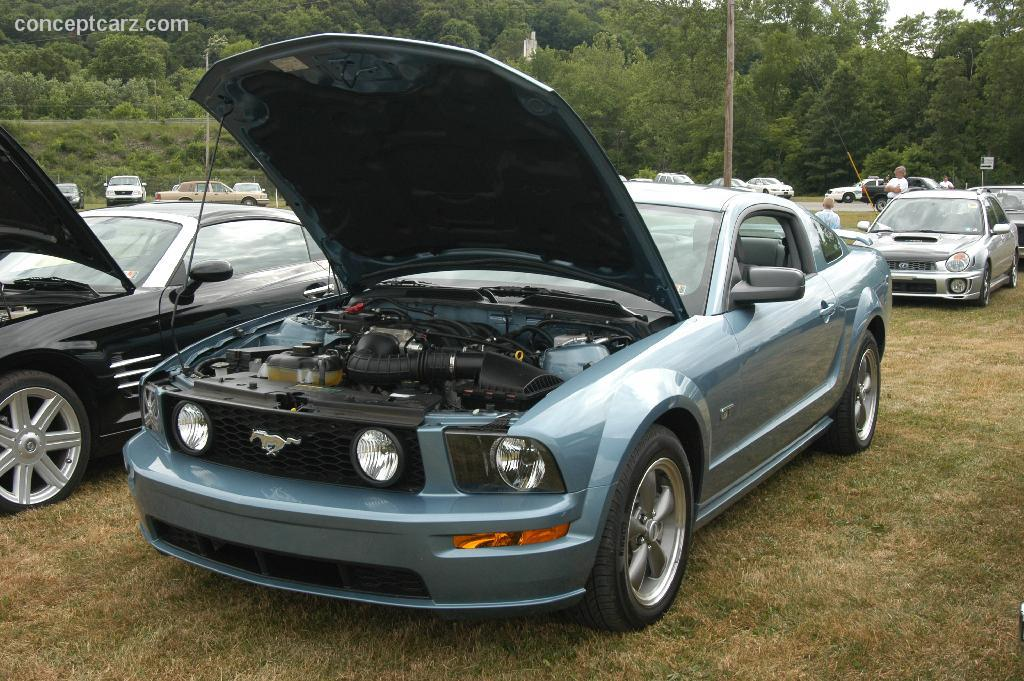 Auction results and data for 2005 Ford Mustang  conceptcarzcom