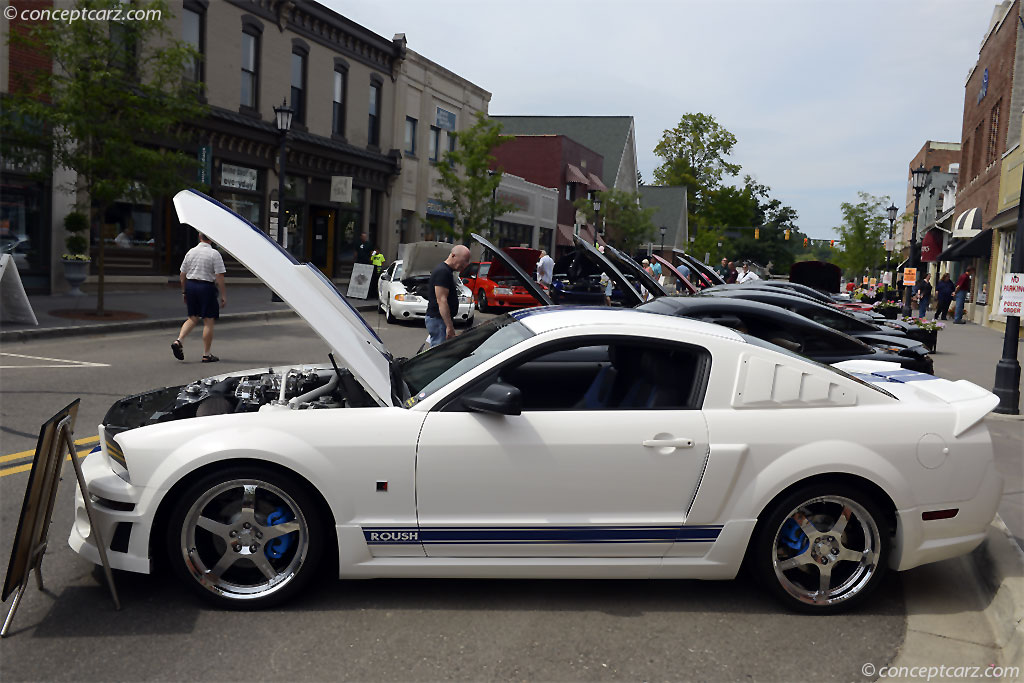 2006 roush mustang stage 3 stage3 stage iii conceptcarz. Black Bedroom Furniture Sets. Home Design Ideas