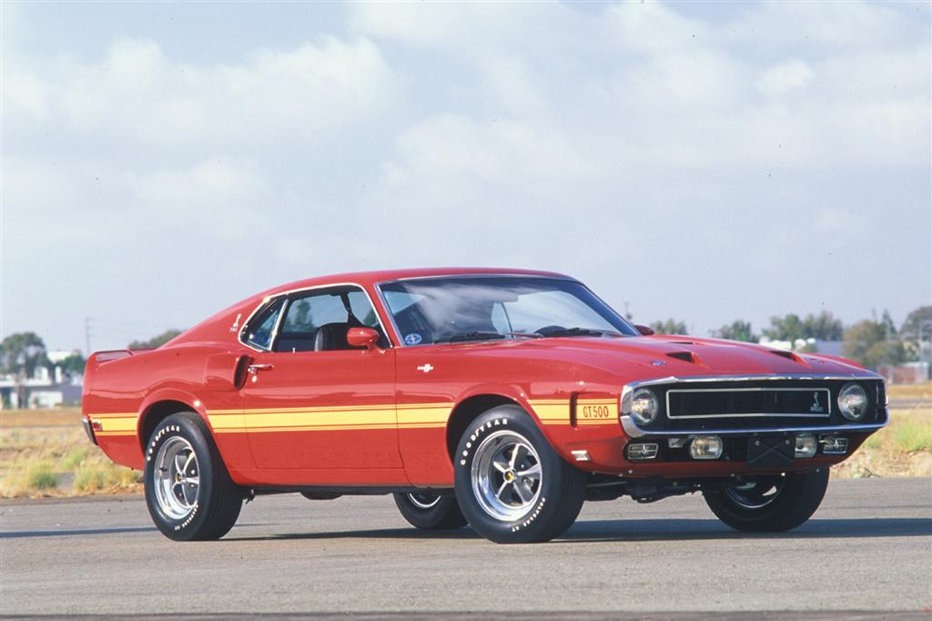 Ford Mustang GT500 pictures and wallpaper